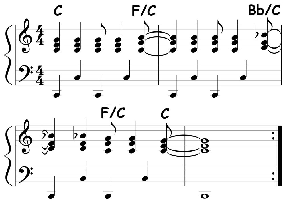 piano-ology-chord-progressions-pedal-point-example-rock-vamp